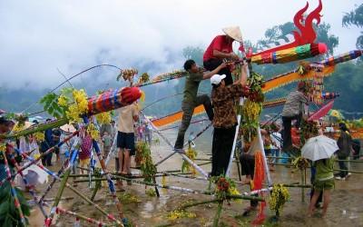 Rocket festival in Laos