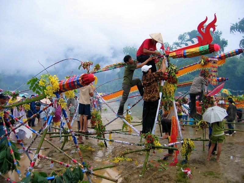 Rocket Festival In Laos Laos Tourist