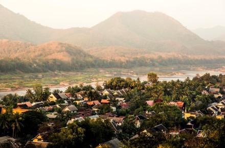 Luang Prabang city